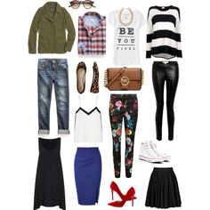 Essential Items by mimigstyle, via Polyvore