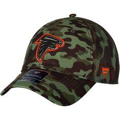 Atlanta Falcons NFL Pro Line by Fanatics Branded Recon Trucker Adjustable  Hat – Camo 74efbeca0ac4