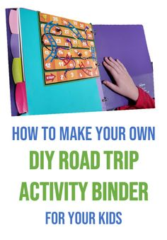 Your children will be excited about their next car ride with a Road Trip Activity Binder for your Kids. I'm showing you how to make your own custom binder filled with all the activities your kids love. #RoadTrip | Adventure | DIY