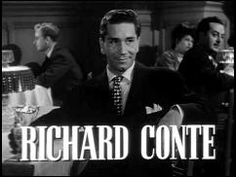 Richard Conte, Film Noir Richard Conte, Stars, Movies, Fictional Characters, Film Noir, Films, Sterne, Cinema, Movie