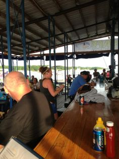 Latitude 41 Bar and Grill. Saylorville Lake