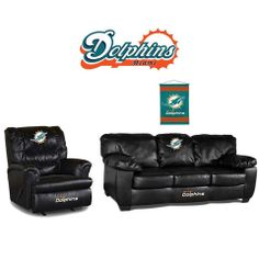 Use This Exclusive Coupon Code Pinfive To Receive An Additional Off The Miami Dolphins Leather Furniture Set At