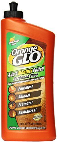 Orange Glo Hardwood Floor Monthly Polish, 24 Oz (Pack of Hardwood floor cleans, shines, protects and revitalizes bringing out the natural beauty of your hardwood floors. Great for homes with pets and lots of foot traffic. Laminate Flooring Cleaner, Best Hardwood Floor Cleaner, Best Wood Flooring, Cork Flooring, Wood Laminate, Hardwood Floors, Cleaners Homemade, Floor Refinishing, Diy Kitchen