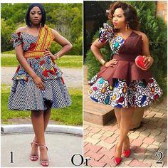 Exotic Ankara Gown Styles In Nigeria Beautiful Ankara Gowns, Beautiful Ankara Styles, Ankara Styles For Women, Ankara Dress Styles, African Wedding Dress, African Dress, South African Traditional Dresses, African Fashion Ankara, Fashion Dresses