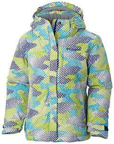 Columbia Sportswear Girls Nordic Jump Jacket, Light Grape Camo, XX-Small Columbia