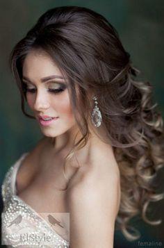 Elegant bridal hairstyles for long hair (144)