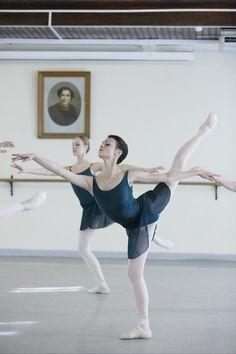 Kristina Shapran at Vaganova Ballet Academy
