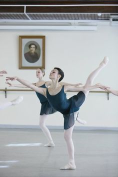 Kristina Shapran at Vaganova Ballet Academy amazing that i got to dance with her.