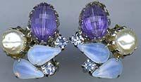 Periwinkle earrings 3