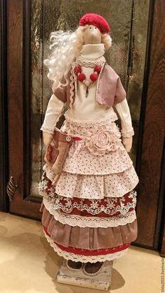 Купить Тильда Бохо - комбинированный, бохо-стиль, тильда бохо, интерьерная кукла, оригинальный подарок