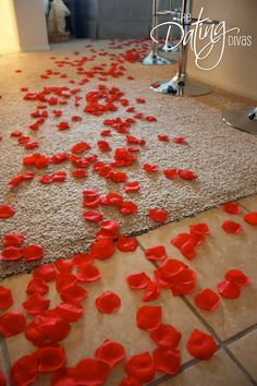 great sexy valentines day bathroom decorating ideas _18