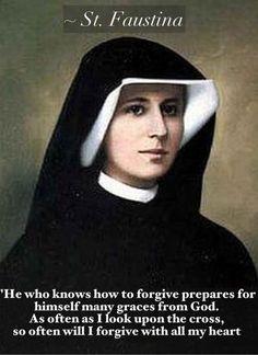 St. Faustina, another Polish saint :)
