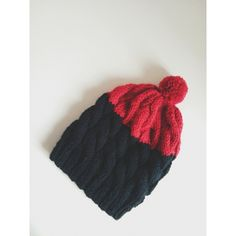 Pincel Beanie in Onyx and Cherry
