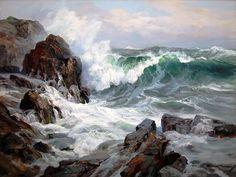 Charles Vickery: Original Paintings: Item# 17497