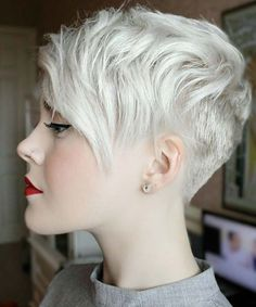 undercut pixie. #hairstyles #longhairtips More