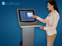 "#tucanaglobal #Technology:: #Touch #Screen #Kiosk interface is possibly the fastest growing alternative for the mouse and the keyboard.""Touch Screen Kiosk"" can refer to #self-#service computing terminals as well as free-standing pavilions in retail environments. This dual meaning is not really that surprising, given that both definitions describe a self-contained system for accessing information and completing transactions. #Interactive kiosks can take a number of forms"