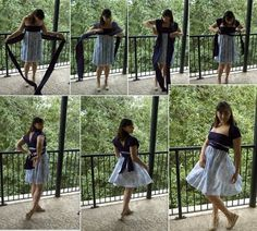 sewing project: DIY infinity dress