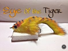 fly tying TIGER ZONKER por Jorge G - YouTube