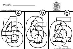 Site maternelle : apprendre à lire les chiffres en maternelle Teacher Worksheets, Worksheets For Kids, Gross Motor Activities, Preschool Activities, Preschool Math, Kindergarten Math, Cute Powerpoint Templates, Grande Section, Bird Crafts