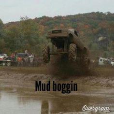 Mud boggin .... Looks like fun