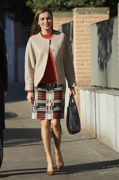 Royal News, Swedish Royals Queen Letizia attended a Meeting with the Board of FEDER