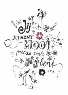 leuke doodle tekst voor op de slaapkamer muur ♥ More