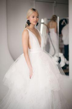 Marchesa #Whiteweddingdressandveils