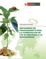 Revista Minam - Mecanismos de financiamiento para la conservación de los ecosistemas y la biodiversidad.