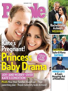 ON NEWSSTANDS 12/07/12: Kate's Pregnant! All about her royal baby drama. Plus: Taylor Swift & Harry Styles, Bachelorette Ashley's wedding and more in this week's PEOPLE!