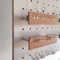 I'm in love with the earring holders @surfaceprojectbaltimore built for my custom display. come see the jewelry, my display and me on april 30th at #buzzmakermarket  #jewelry #silver #ladysmith