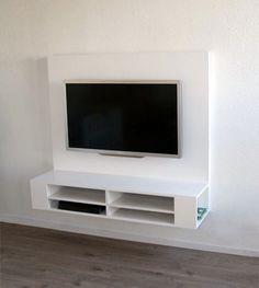 tv kast zelf maken Door Souvenirdelavie