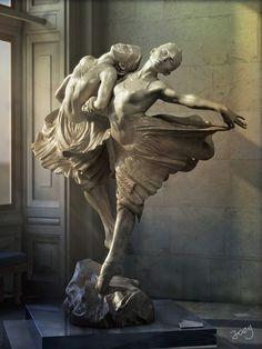 Dance the Dream - digital copy (by Joey) of Richard McDonald's sculpture