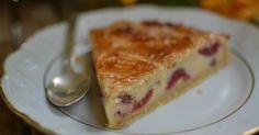 Pastel vasco con cerezas, ¡delicioso!
