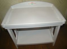 American Girl Bitty Baby Doll Retired Changing Table Station Nursery Furniture
