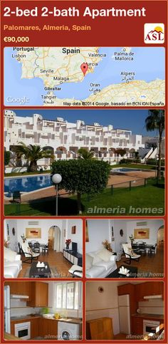2-bed 2-bath Apartment in Palomares, Almeria, Spain ►€90,000 #PropertyForSaleInSpain