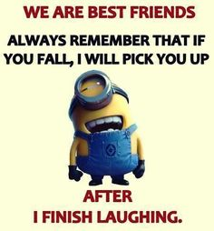 Ideas For Funny Cartoons Jokes Humor Minions Quotes Minion Jokes, Cartoon Jokes, Minions Quotes, Funny Cartoons, Funny Jokes, Hilarious, Funny Minion, Minion Sayings, Funny Insults