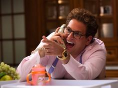 Jonah Hill says he was hospitalized for snorting too much fake cocaine in 'The Wolf of Wall Street'
