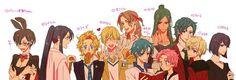 Sailor Moon: If the Sailor Senshis were guys :) OMFG!!!!!!! I LOVE THIS!!!!!!!!!!!!!!