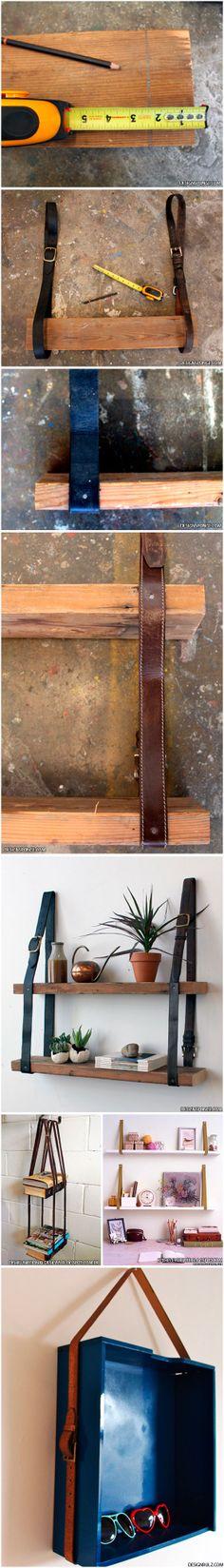 Cintos - prateleiras - gavetas - nichos