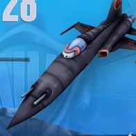 the fabled mig28 in WildWings from TopGun