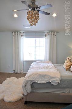 1000 images about ceiling fan makeover on pinterest ceiling fan makeover ceiling fans and for Ceiling fan or chandelier in master bedroom