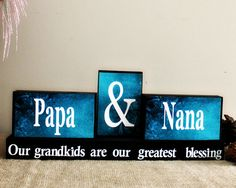 Grandparents Christmas Gift  Personalized by TimelessNotion