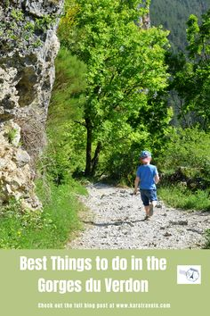 Look no further for fun things to do with kids in the Gorges du Verdon in France. Highlighted in the text are 5 outings to take in the Gorges du Verdon with kids. Europe Travel Guide, Europe Destinations, France Travel, Budget Travel, Travel Guides, European Vacation, European Travel, Travel Couple, Family Travel