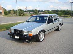 Ma 4em voiture une Volvo 740 5em vitesse avec l'overdrive