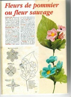 Crochet flower magazines ~ Craft , handmade blog