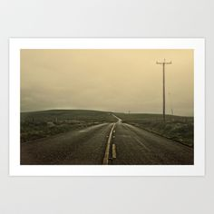the Road Art Print by Christina Shaffell - $16.00