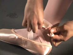 How to Tie Pointe Shoes: 6 Steps (with Pictures) - wikiHow