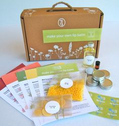Eco-Friendly Craft Kits from Herban Crafts...kits to help you make your own beauty products