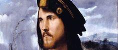 Portrait de César Borgia par Altobello Melone (environ 1513).