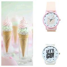 Reloj Let's go en rosa o blanco (3,84€) REBAJAS www.deplanoodetacon.com